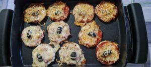 Canapés-Pizzas