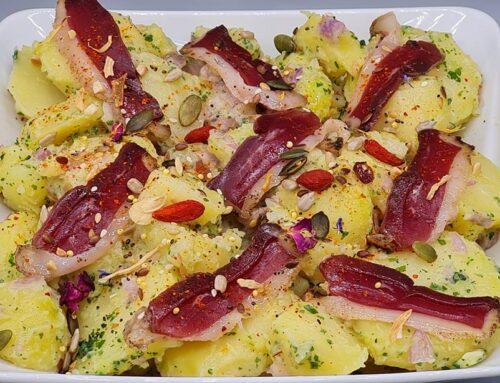 Salade de Pommes de Terre au Magret Fumé