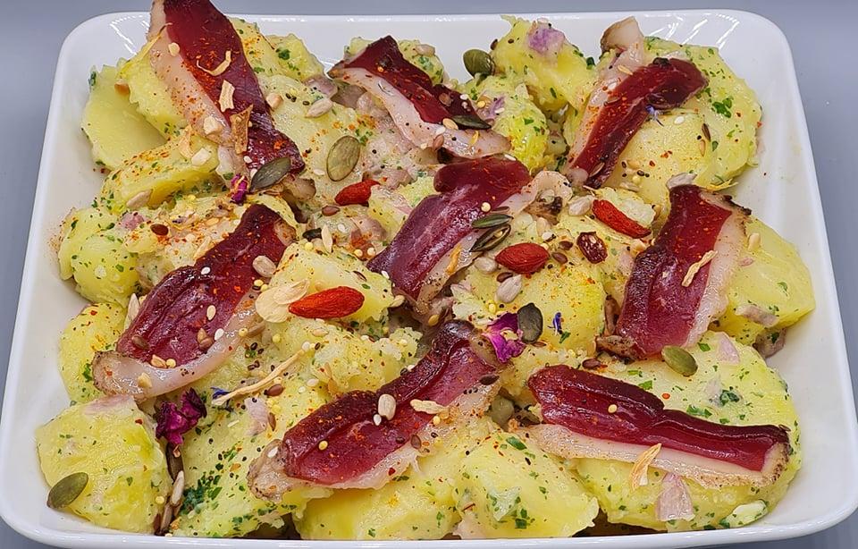 Salade-Pomme-Terre-Magret-Fume