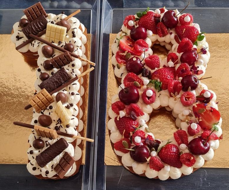 Number_Cake_Fruits_Chocolat