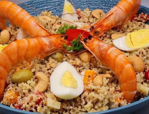Salade de Boulgour et Quinoa d'Eté