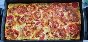 Flan-Courgettes-Tomates