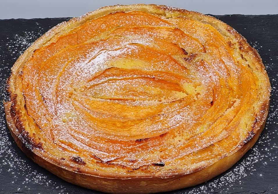 Tarte-Feuillette-Melon-Amandes