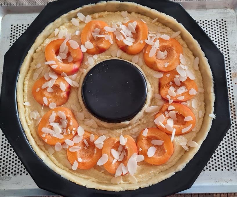 Tarte-Abricots-Amandes