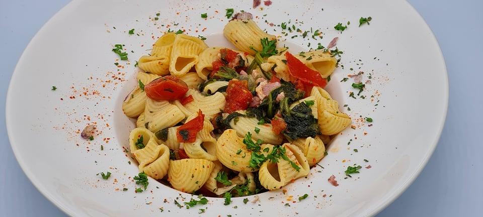 One-Pot-Pasta-Lardons-Epinards